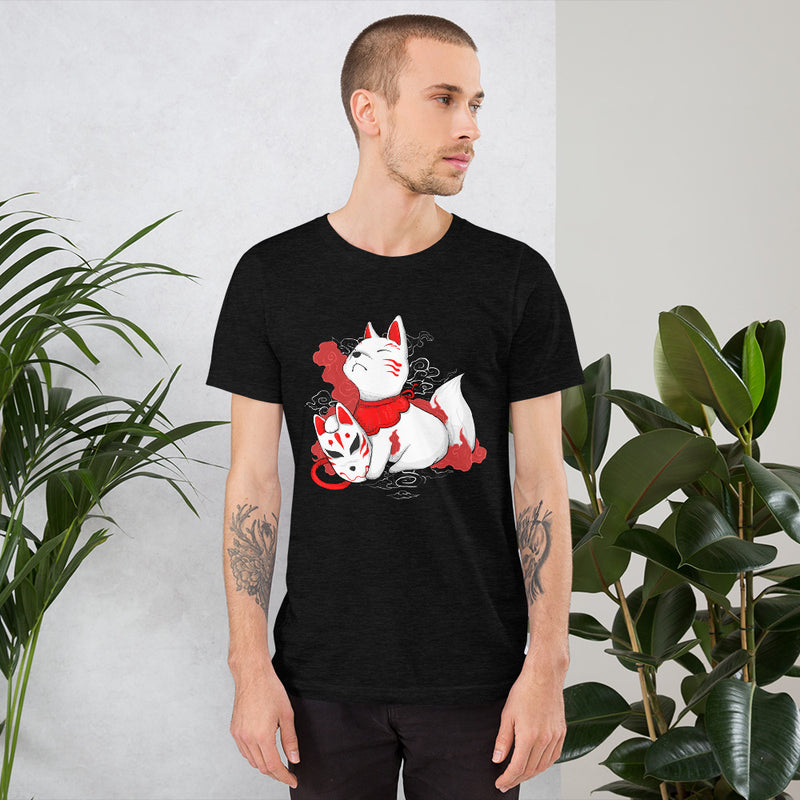 Camiseta Unisex Black Heather Hombre