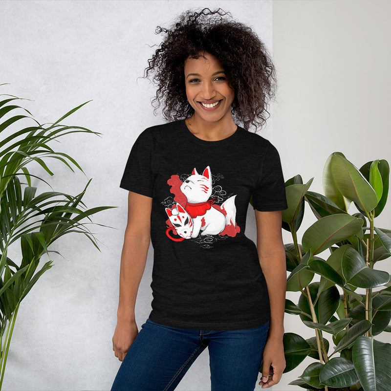 Camiseta Unisex Black Heather Mujer