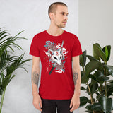 Kitsune Warrior (Unisex T-Shirt)