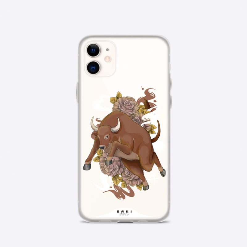 Ox Chinese Zodiac (iPhone Case) - Saki Deizan