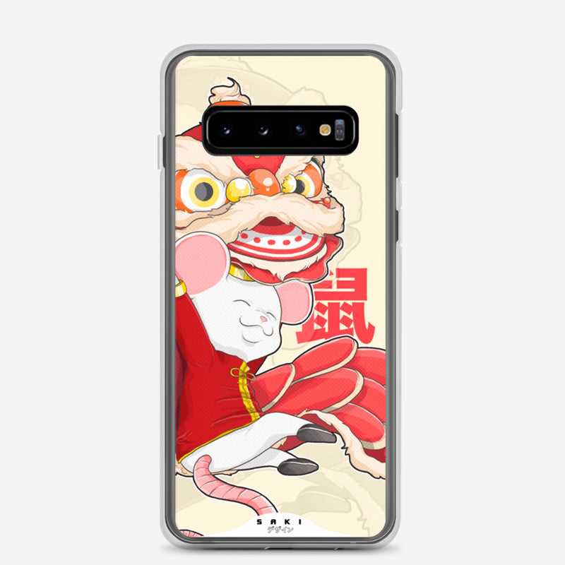 Rat's Lion Dance (Samsung Case) - Saki Deizan