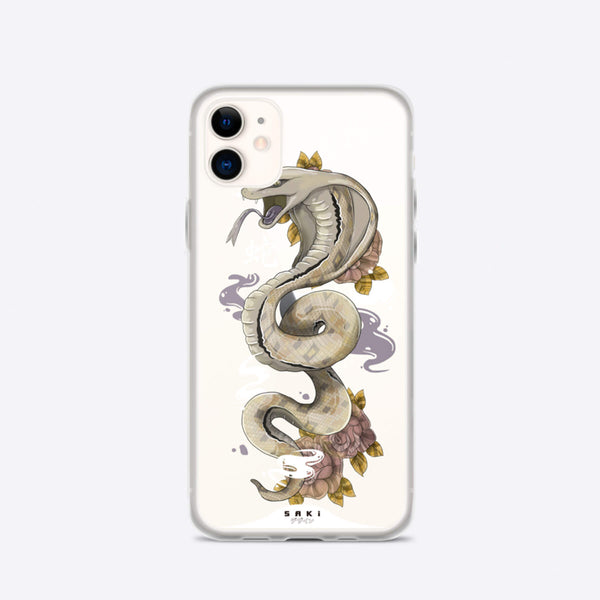 Snake Chinese Zodiac (iPhone Case) - Saki Deizan