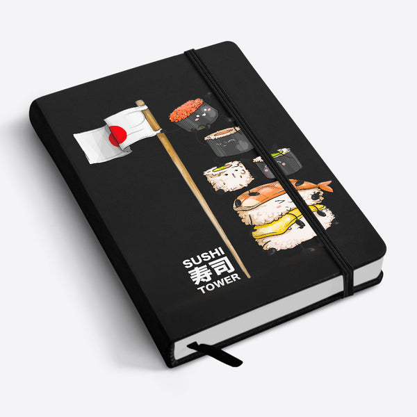 Notebook Libreta A6 & A5 Sushi Tower