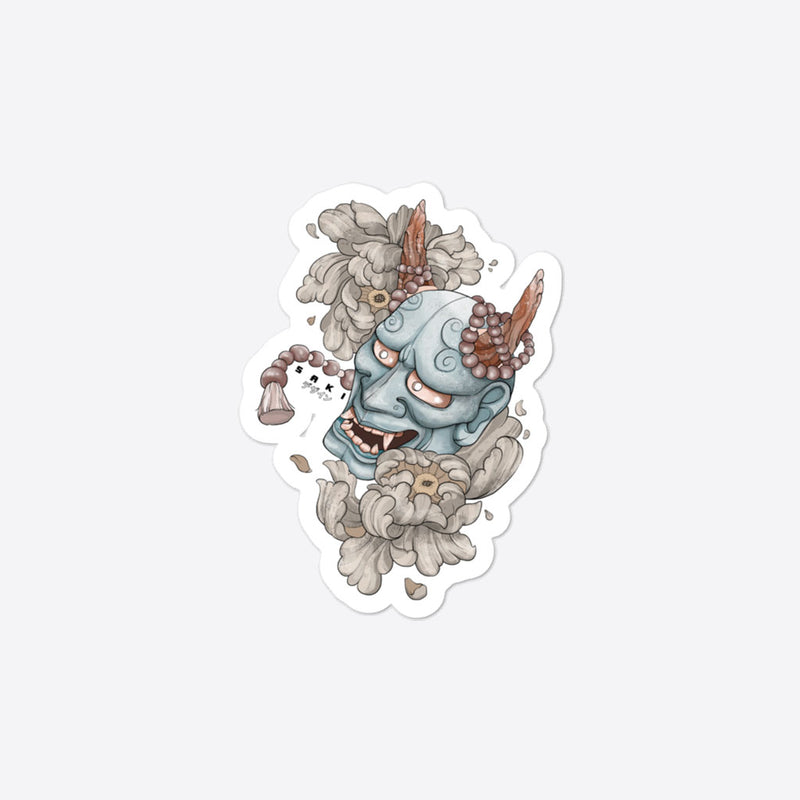 Hannya Mask - Sticker