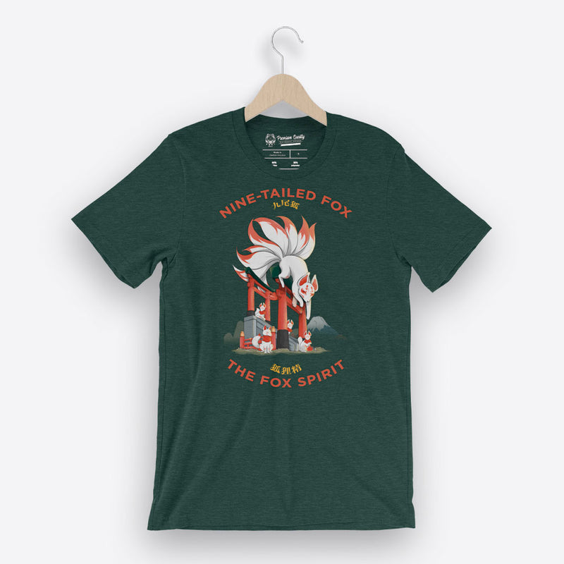 Nine Tailed Fox - Unisex T-Shirt - Saki Deizan