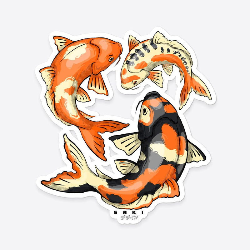 Sticker - Koi Fish - Saki Deizan