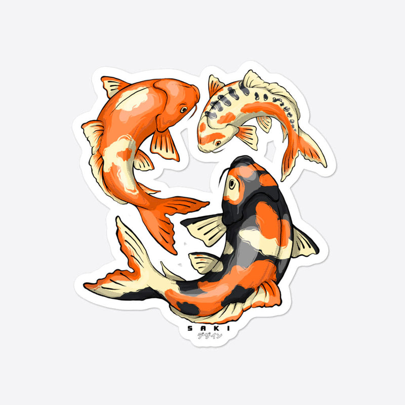 Koi Fish - Sticker