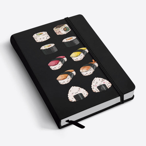 Notebook Libreta A6 Sushis Party
