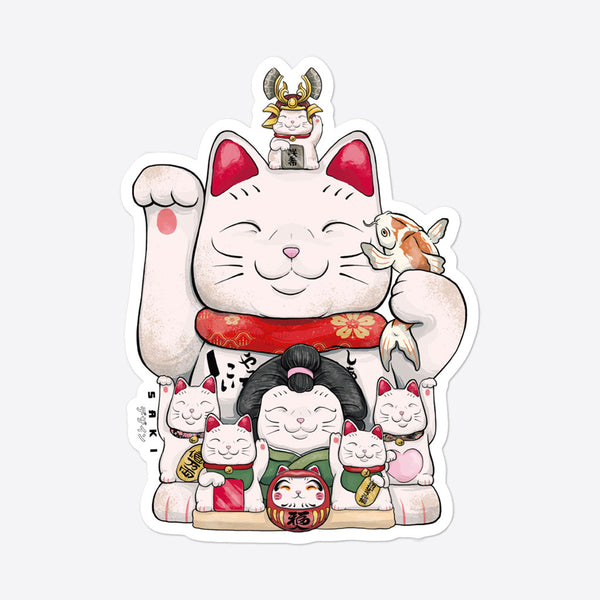 Maneki-Neko Inception - Sticker - Saki Deizan