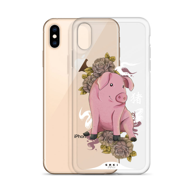 Pig Chinese Zodiac (iPhone Case)