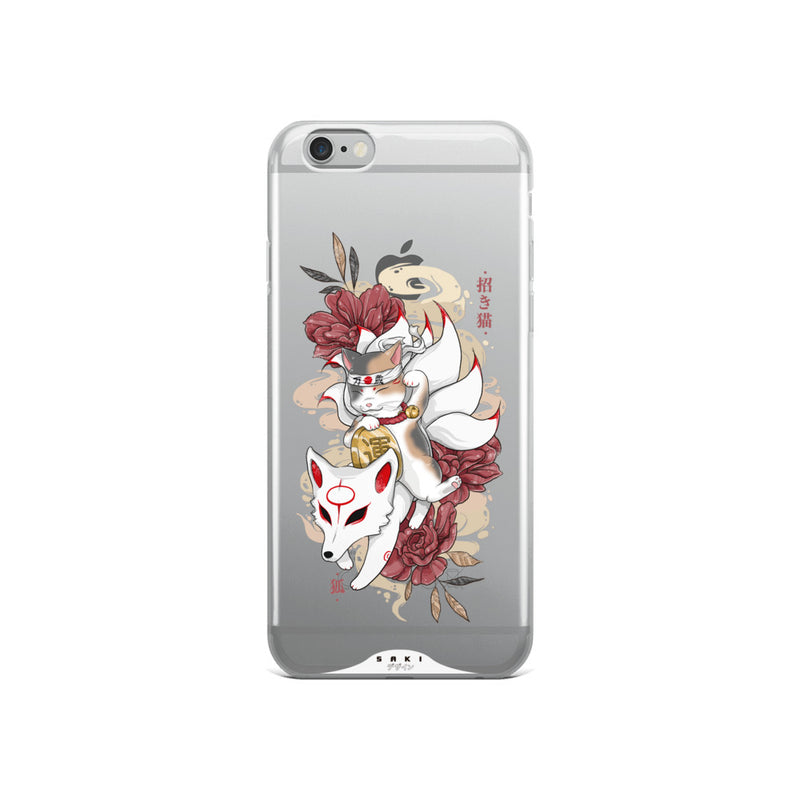 Neko vs. Kitsune (iPhone Case)