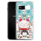 Maneki-Neko Lucky Cat (Samsung Case)