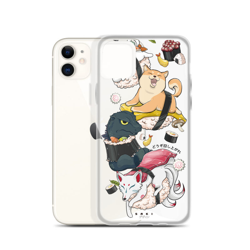 Sushi Characters (iPhone Case)