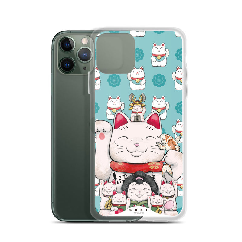Maneki-Neko Lucky Cat (iPhone Case)