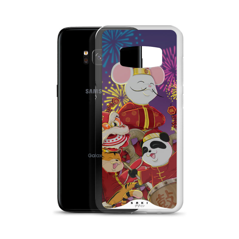 New Year Festivity at night (Samsung Case)