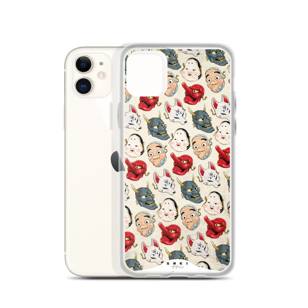 Japanese Masks (iPhone Case)