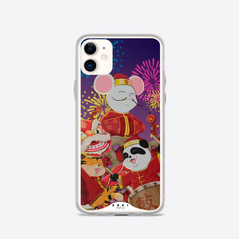 New Year Festivity (iPhone Case) - Saki Deizan
