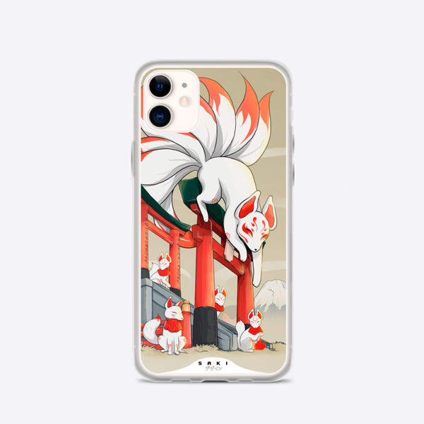 Nine Tailed Fox (iPhone Case) - Saki Deizan