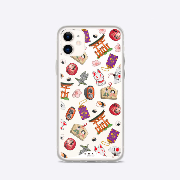Traditional elements (iPhone Case) - Saki Deizan