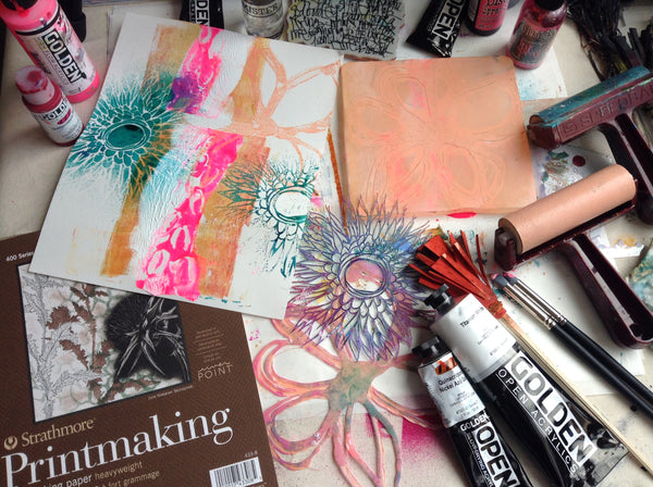 mixed media workshops with traci bautista