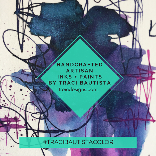 #tracibautistaCOLOR handcrafted artisan inks and paints