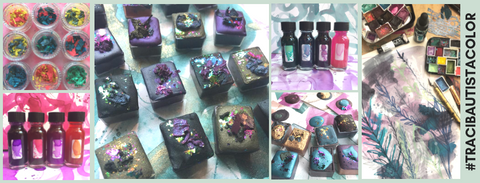 tracibautistaCOLOR collections handcrafted artisan ink + paint