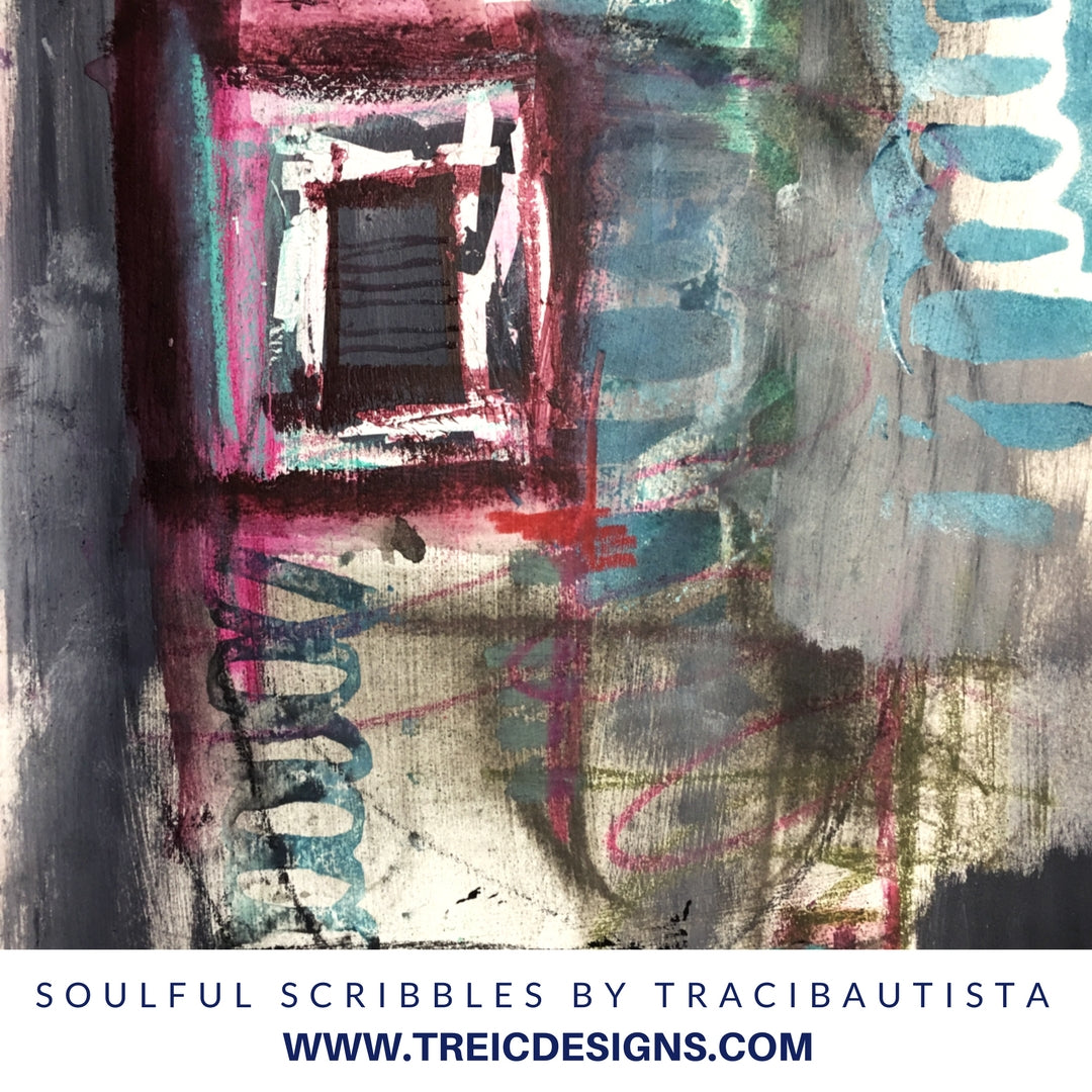 SOULFUL SCRIBBLES stencil kit no. 1 + live stream