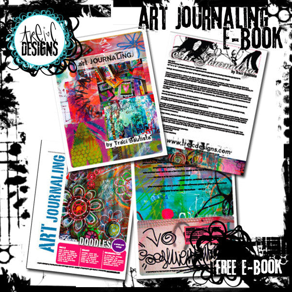art journaling digital kit FREEBIE