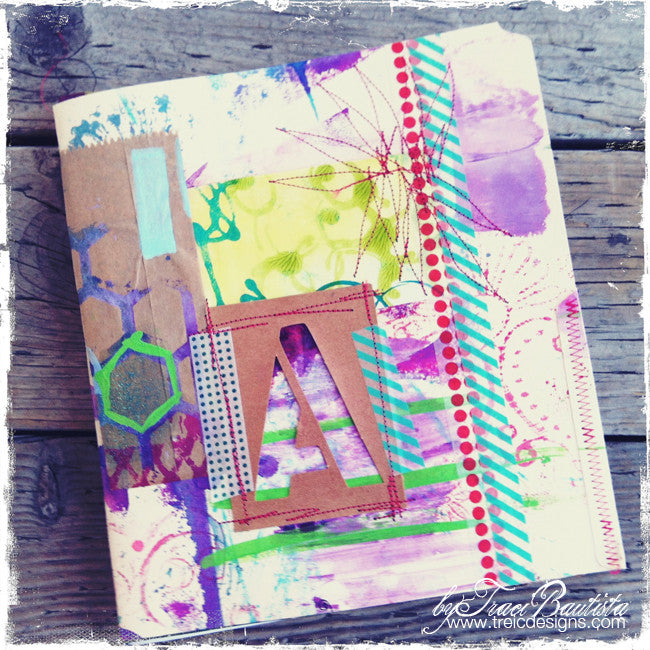 """A"" handmade art journal"