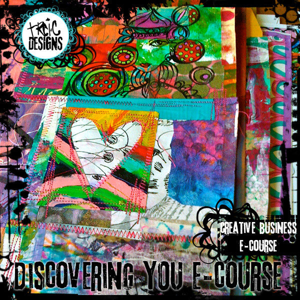 Discovering YOU creative business e-course  BUNDLE