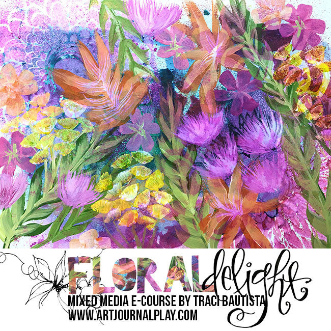 FLORAL delight: FREESTYLE BLOOMS e-course