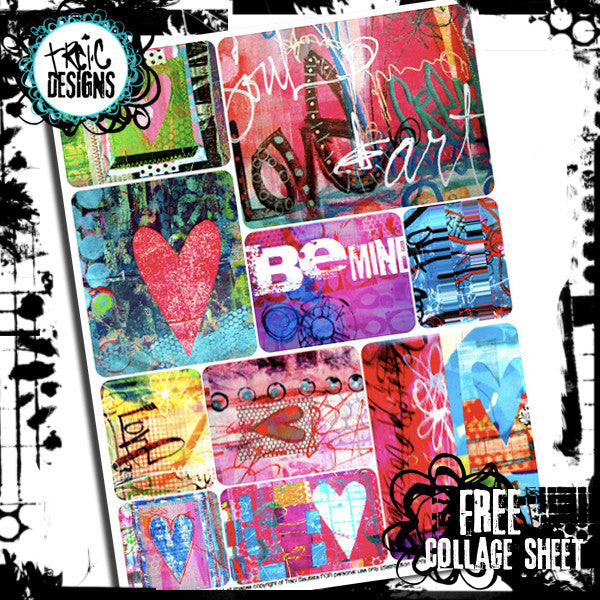 graphic relating to Free Printable Collage Sheets named free of charge obtain, artwork magazine freebie, free of charge collage sheet, free of charge