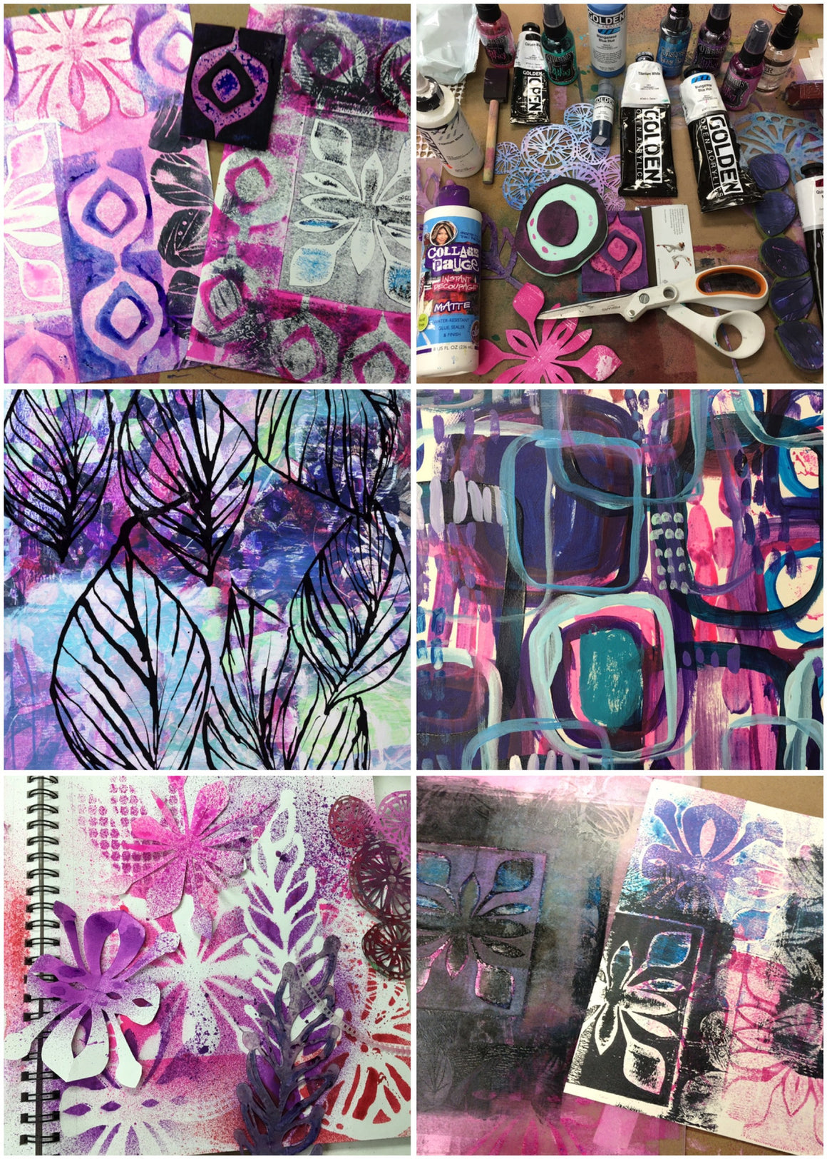 art.journal.PLAY mixed media lab {FALL 2015 session}