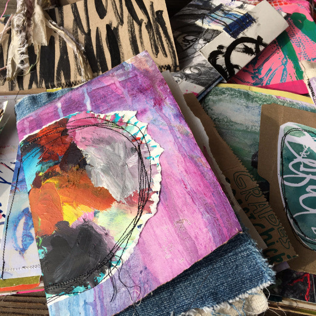 {beautiful LIFE} FREE spirit handmade art journal by traci bautista