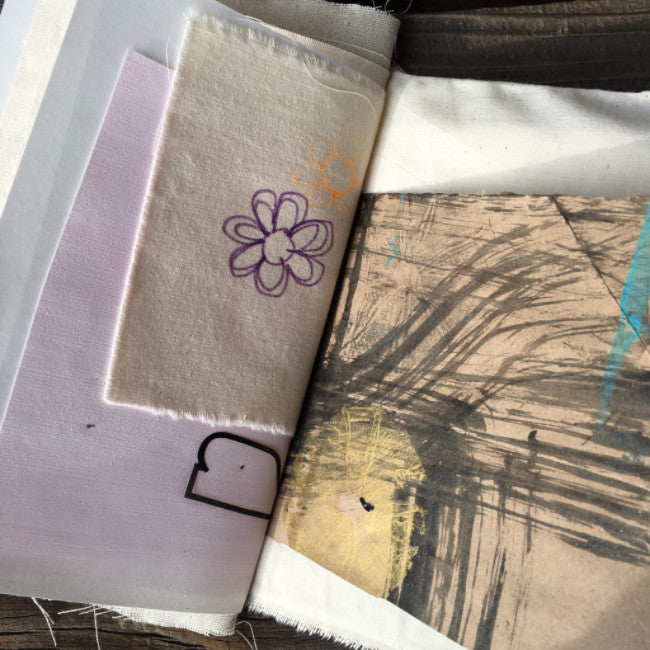 {bohemian wander} FREE spirit handmade art journal by traci bautista