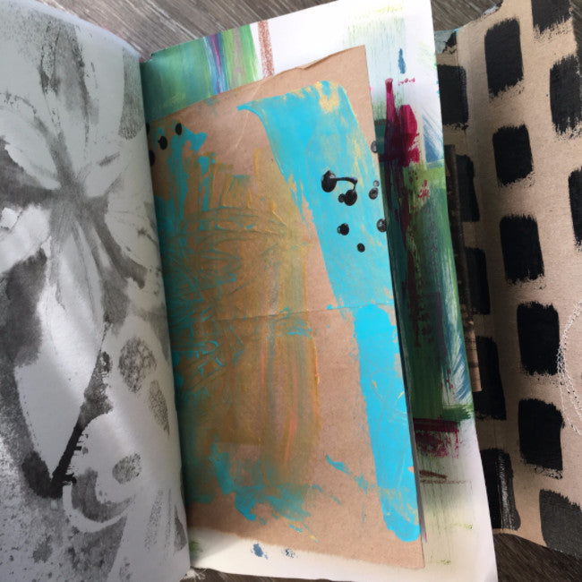 FREE spirit {peaceful soul} handmade art journal by traci bautista