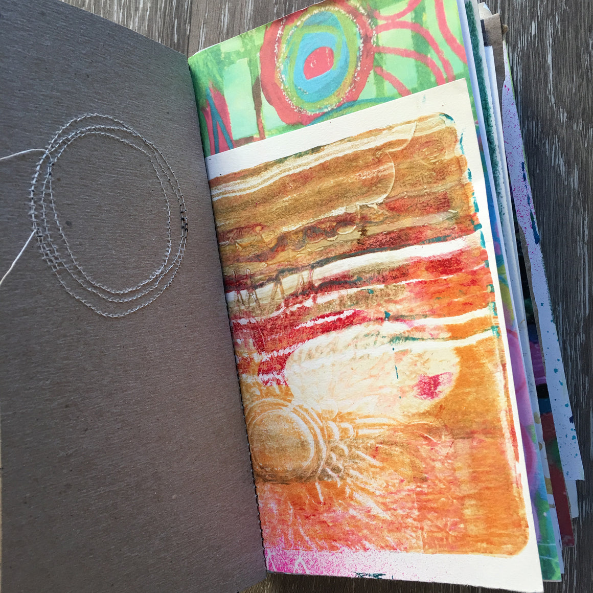 {LOVE voyage} FREE spirit handmade art journal by traci bautista