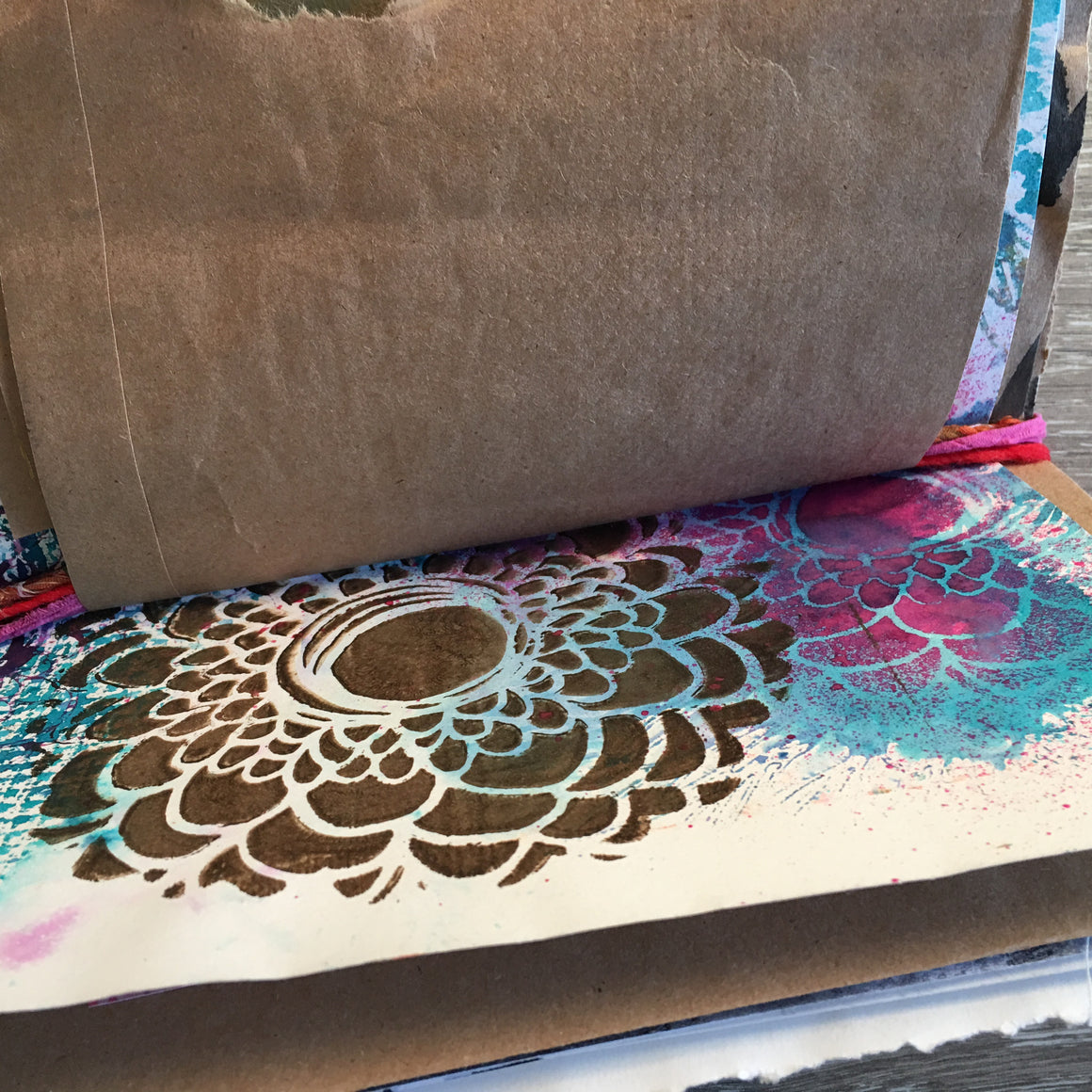 {wanderlust} FREE spirit handmade art journal by traci bautista