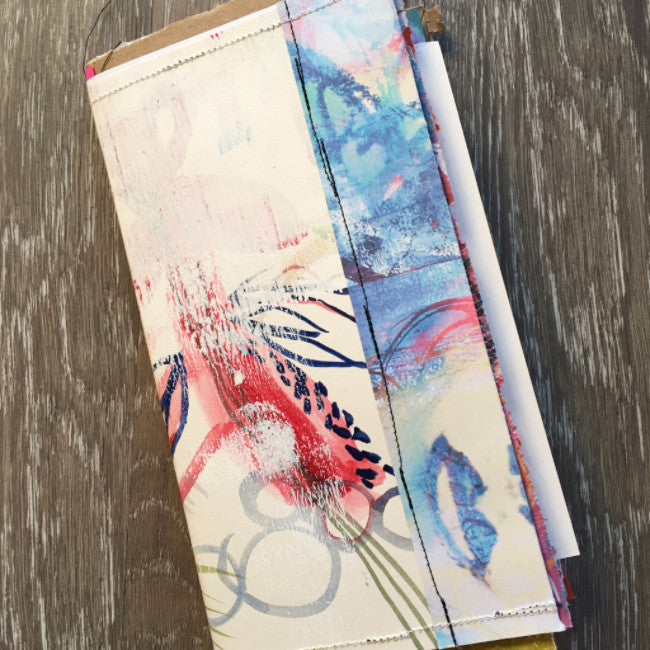 {BLISSFUL voyager} FREE spirit handmade art journal