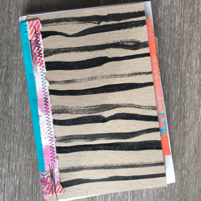 {heart SOUL} FREE spirit handmade art journal by traci bautista