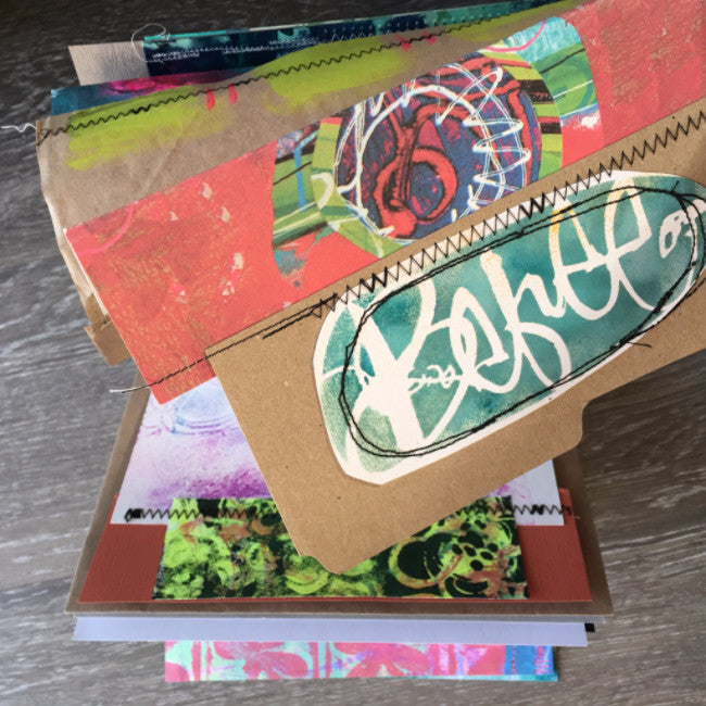 {la vie Bohème} FREE spirit handmade art journal by traci bautista