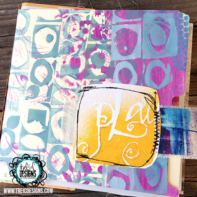 PLAY handmade art journal
