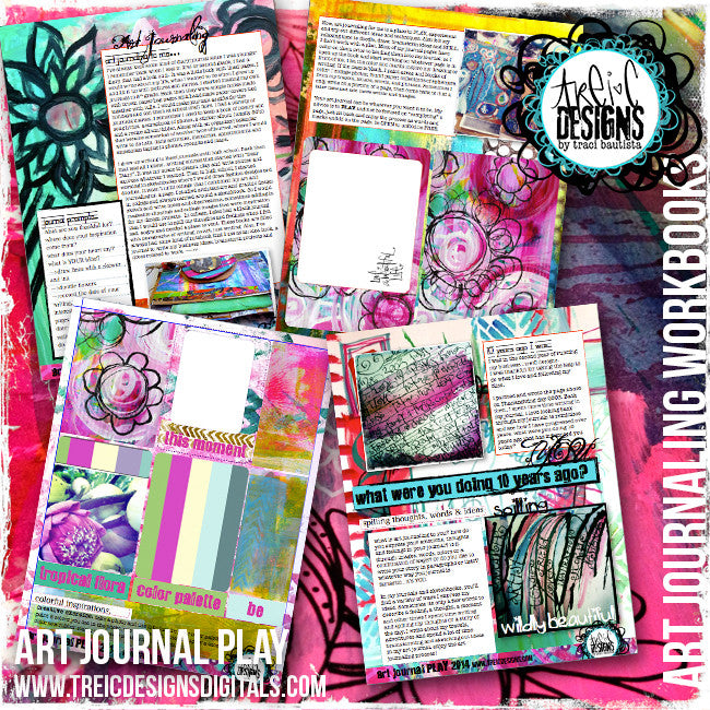 art.journal.PLAY workbook PREVIEW