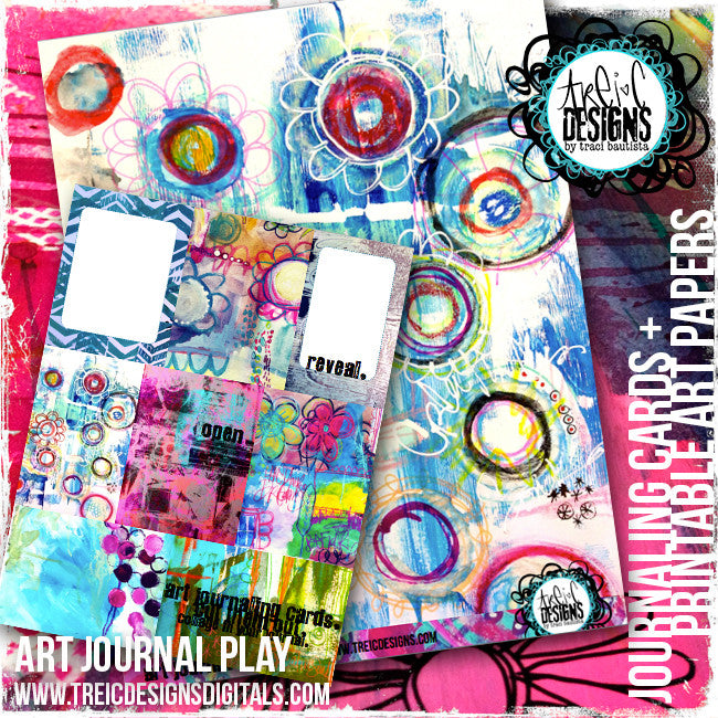art.journal.PLAY LIVE workshop #3 FLOURISH {hand lettered}