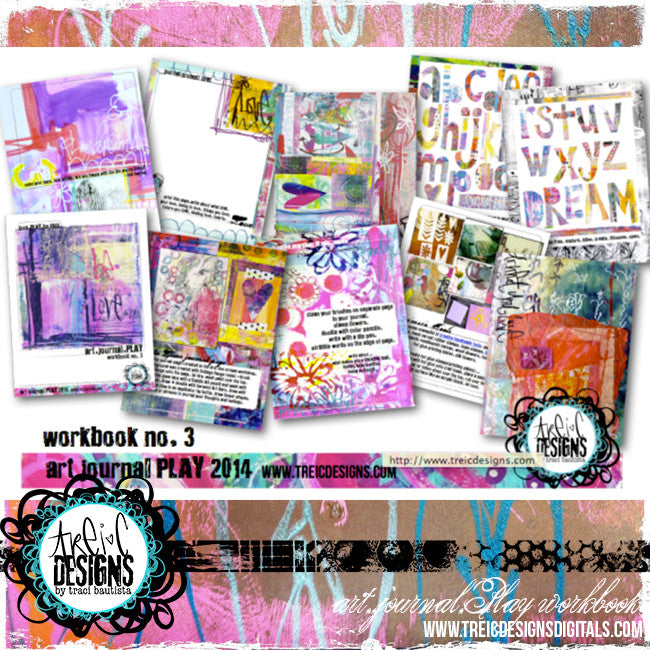 art.journal.PLAY workbook no. 3