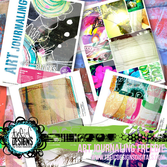 art journaling digital workbook FREEBIE