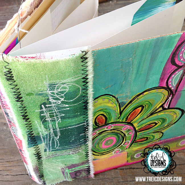 be.LOVE.play handmade art journal