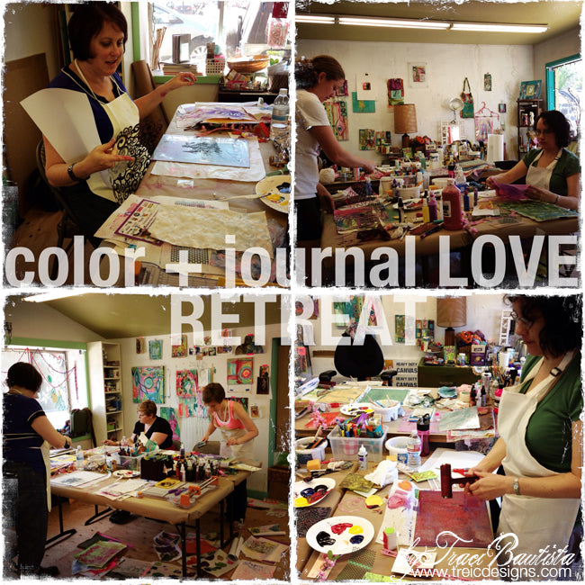 color + journal LOVE retreat