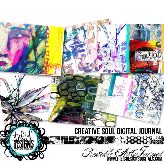 creative SOUL printable art journal