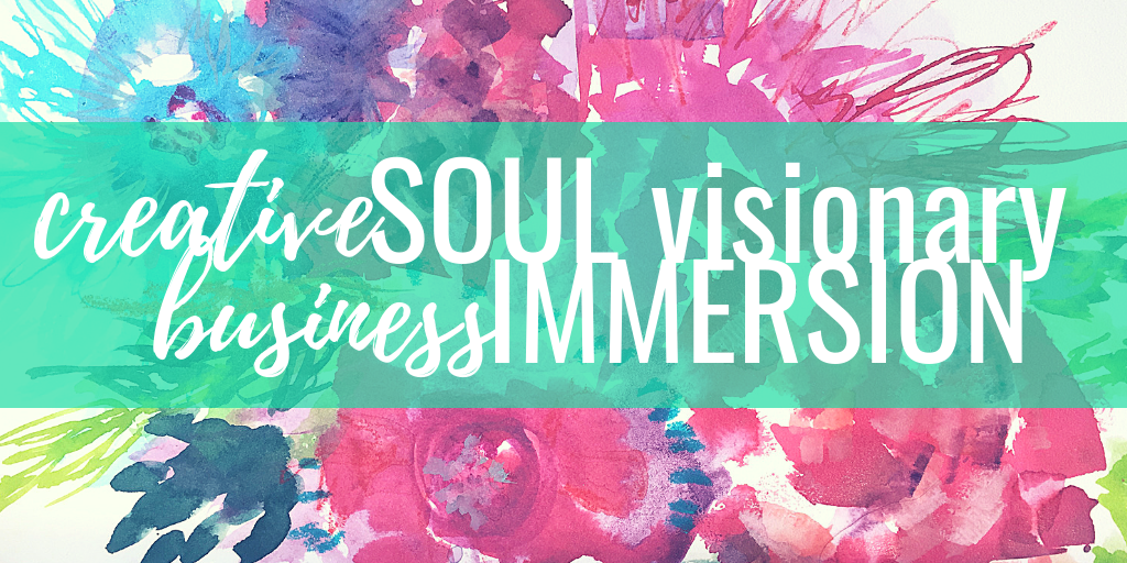 creative soul visionary business immersion virtual retreat {JAN 2019}